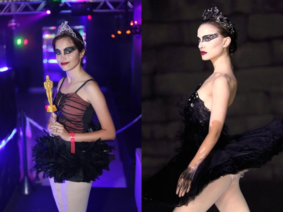 Fantasia Festa Rebobinar Manaus - black swan costume