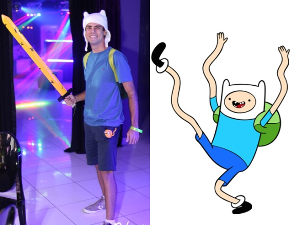Fantasia Festa Rebobinar Manaus - Finn cartoon costume