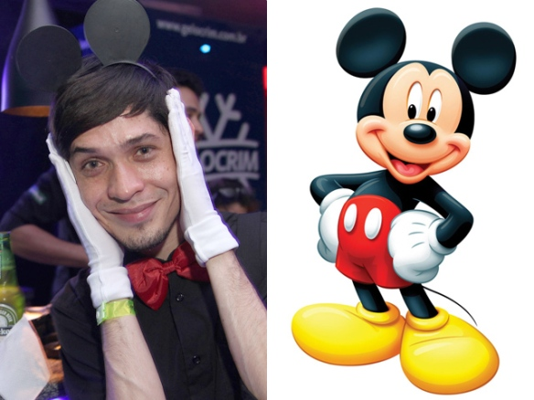 Fantasia Festa Rebobinar Manaus - Mickey mouse costume