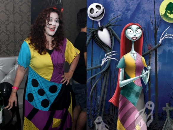 Fantasia Festa Rebobinar Manaus - Sally nightmare before chrismas costume