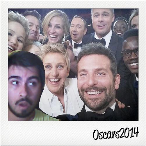 oscar selfie 2014