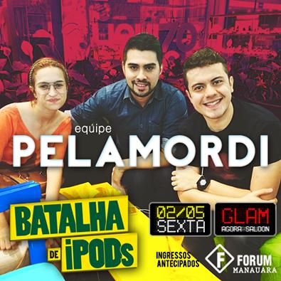 equipe pelamordi 2014 - batalha de ipods manaus amazonas brasil