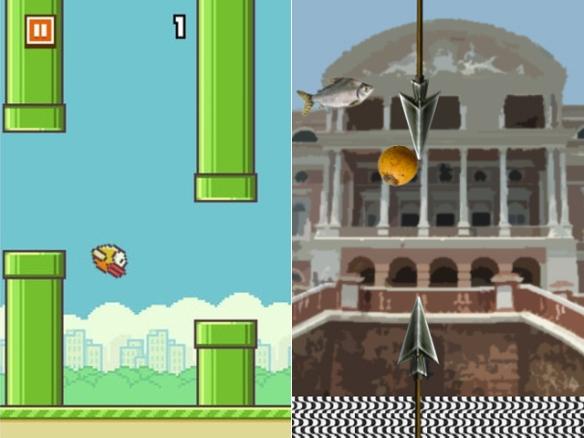 flappy bird parody - pelamordi - amazonas - flapp jaraqui 3
