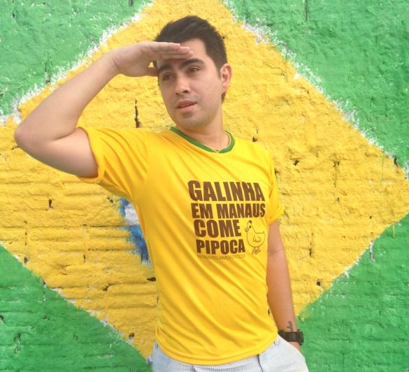 camiseta_galinha em manaus come pipoca_copa 2014
