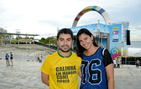 Galinha em Manaus come pipoca_ g1 rafael froner ligiane braga